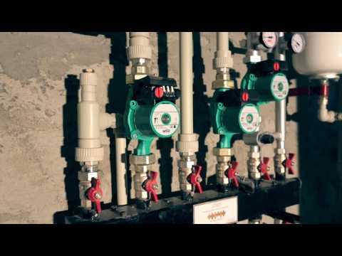 Монтаж отопления, водоснабжения в частном доме.
