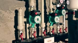 Монтаж отопления, водоснабжения в частном доме.(Обзор одного из домов Тульской области, в котором специалистами компании