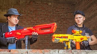 Nerf Guns War : S.W.A.T Men Of TTNerf Team Special Brave Fight Squad Boss XX Criminal Dangerous Ep.4
