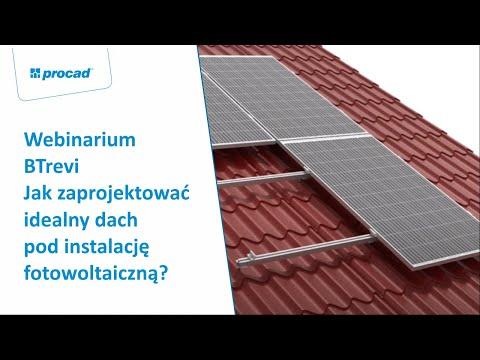Webinar: BTrevi - Jak zaprojektować idealny dach pod instalację fotowoltaiczną?