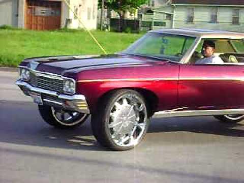 70 Impala Donk YouTube
