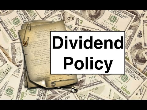 an appraisal of the dividend policy Capital structure and dividend policy decision on firms performance on the nigerian stock exchange an appraisal of the implication of electronic banking in.