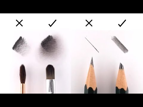 10 EASY Tips to IMPROVE your DRAWING (Great for Realistic Portrait Drawing)