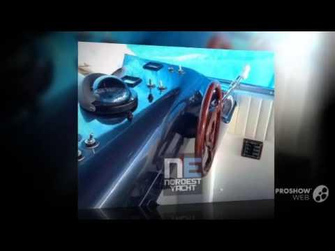 Colombo 41 blue shore power boat, motor yacht year - 1989