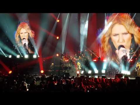Céline Dion au Stade Pierre Mauroy de Lille le 2/7/17