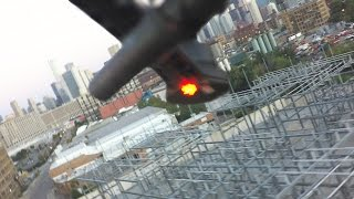 DJI CRASH WARNING! Never fly a DJI S800 Drone close to a power station - DJI WITH Wookong M FC