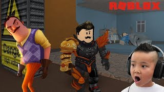 Turned Into The NEIGHBOR Roblox Gameplay mit CKN Gaming
