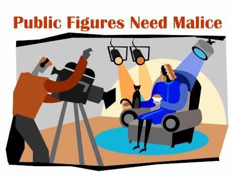 Public Figures Need Malice
