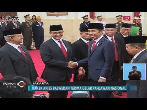Jokowi Anugerahkan Gelar Pahlawan Nasional untuk Kakek Anies Baswedan - iNews Siang 10/11 Mp3