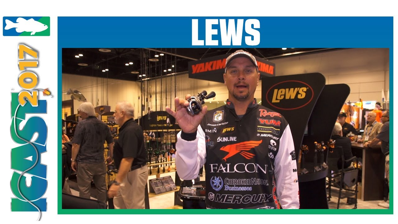 Team Lew's Hyper Mag Speed Spool SLP Reel w. Jason Christie | ICAST 2017