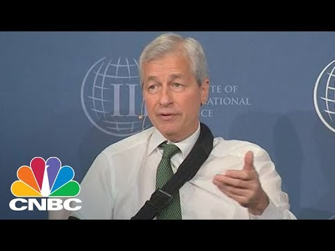 JPMorgan CEO Jamie Dimon: I Could Care Less About Bitcoin | CNBC