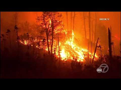 Heartbreaking video of Camp Fire tearing through Butte County