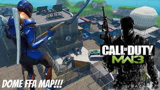 Fortnite CALL OF DUTY mapa MW3 DOME!!! CÓDIGO