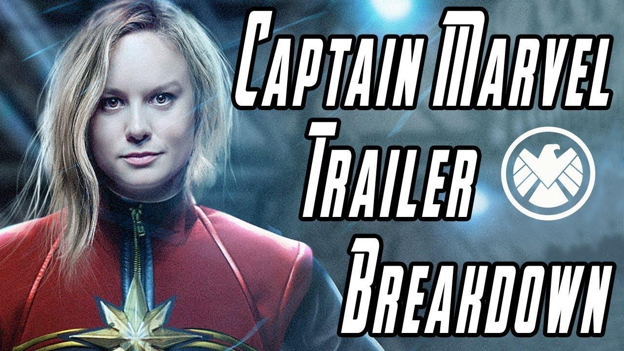 Download Captain Marvel Trailer Breakdown + Details You Missed!