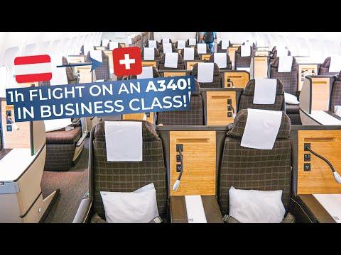 TRIPREPORT | Swiss (BUSINESS CLASS) | Airbus A340-300 | Vienna - Zurich