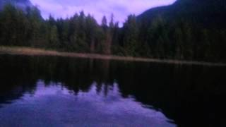 Box lake in Nakusp,  BC Canada