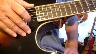 The Loar LH 280 unplugged beyond just Diatonic Harmony