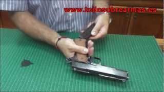 pistola llama 1911 de 9mm
