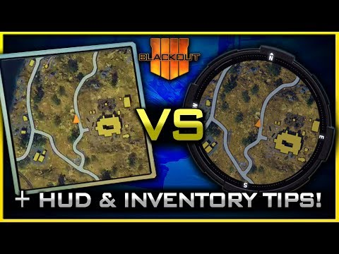 Blackout HUD, Quick Equip, & Inventory Tips | (Which Mini-Map is Best?)