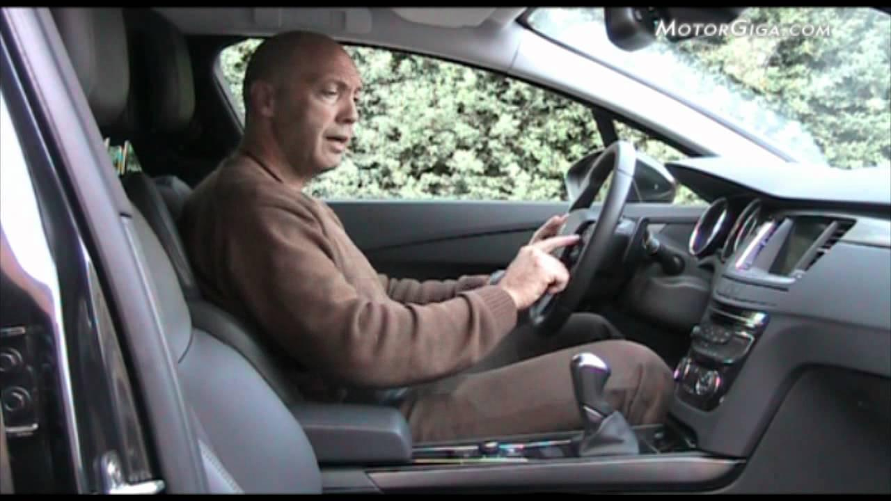 Peugeot 508, Análisis Asientos Delanteros Youtube