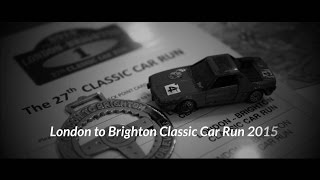 Take to the Road London to Brighton Classic Car Run 2015 - Part 1