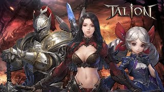 TALION APK - NOVO MMORPG EM PRÉ REGISTRO PRO BRASIL