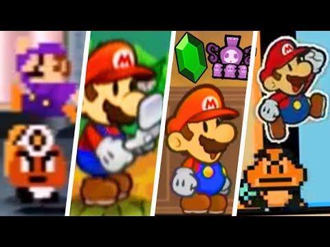 Evolution of Paper Mario Easter Eggs (2000 - 2019)