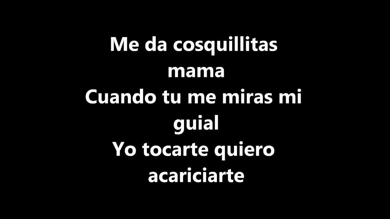 la cancion cosquillitas de blindaje 10