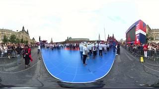 بث مباشر بتقنية 360 درجة.. 3000 ملاكم روسي يدخلون موسوعة غينيس للأرقام القياسية في الساحة الحمراء