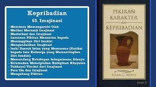 PIKIRAN, KARAKTER DAN KEPRIBADIAN: Kepribadian 63. Imajinasi bag.2 - Pdt. Samuel Simorangkir
