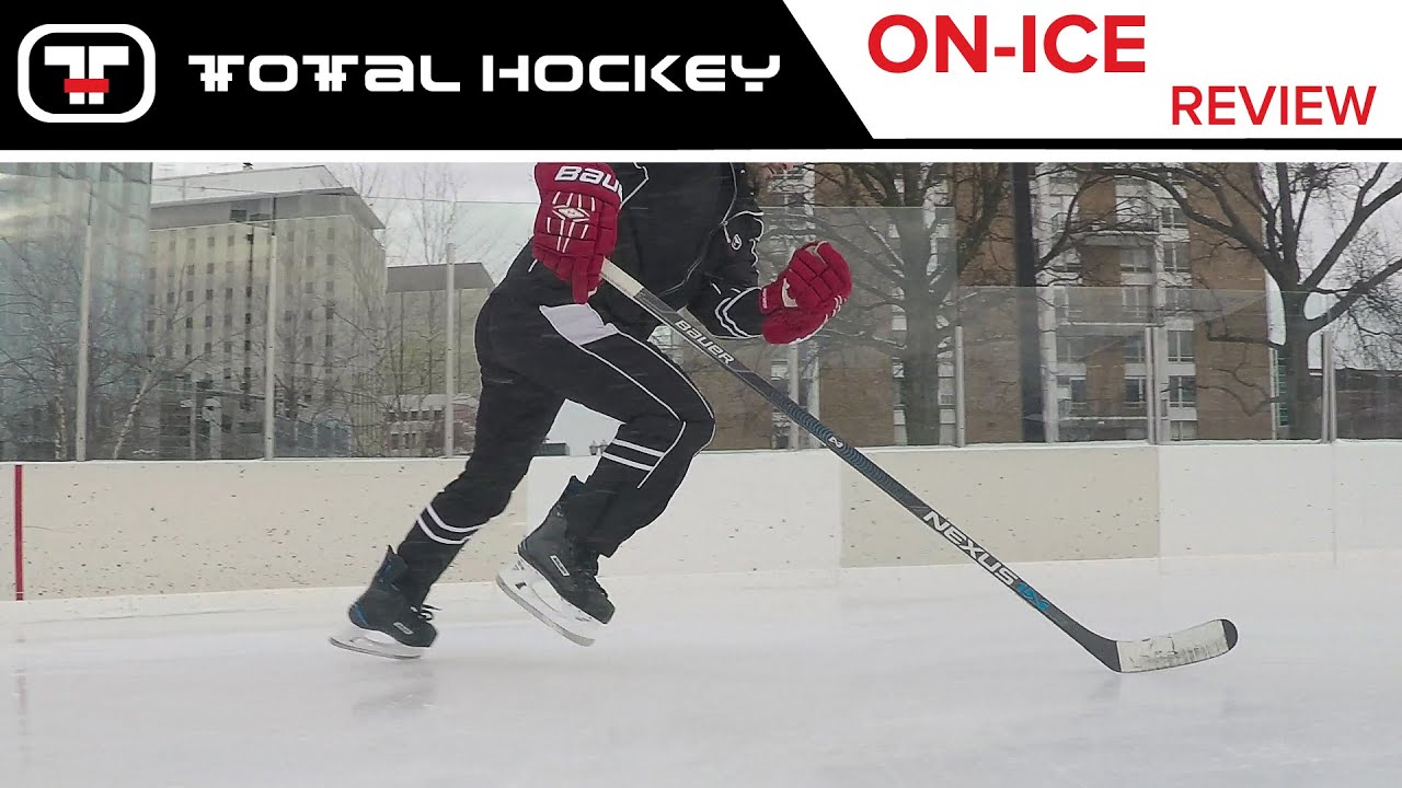 1c0ce46a1d1 Bauer Nexus 1N Skates    On-Ice Review - YouTube