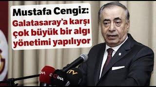 """Mustafa Cengiz: """"Bizim Alnımız Açık, Yaptığımız Yanlış Yok"""""""