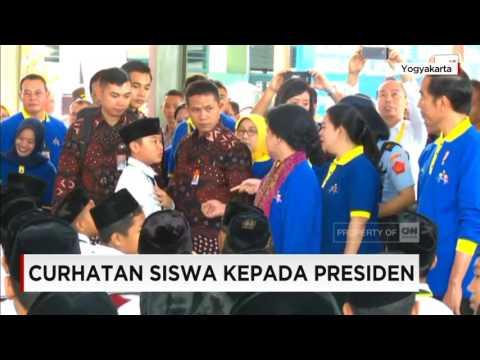 Di Saat Siswa SD Berani Curhat Kepada Jokowi