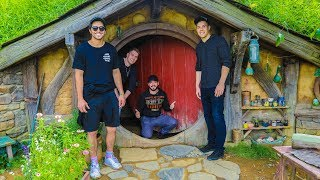 EXPLORING HOBBITON from LORD OF THE RINGS! w/ Toddy Smithy