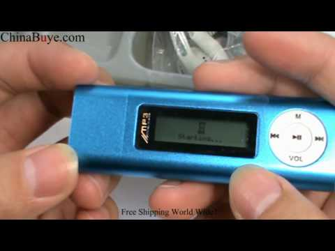 Blue 2GB USB MP3 Player