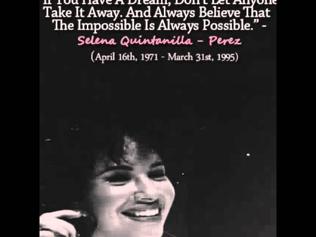 Our Selena quintanilla Perez  will always be with