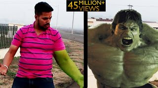 The Hulk Transformation Episode 1 | A Short film VFX Test