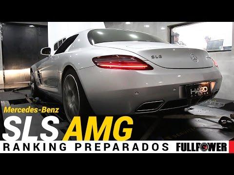 Mercedes-Benz SLS AMG, V8 6.2 aspiradão, no Ranking Preparados FULLPOWER