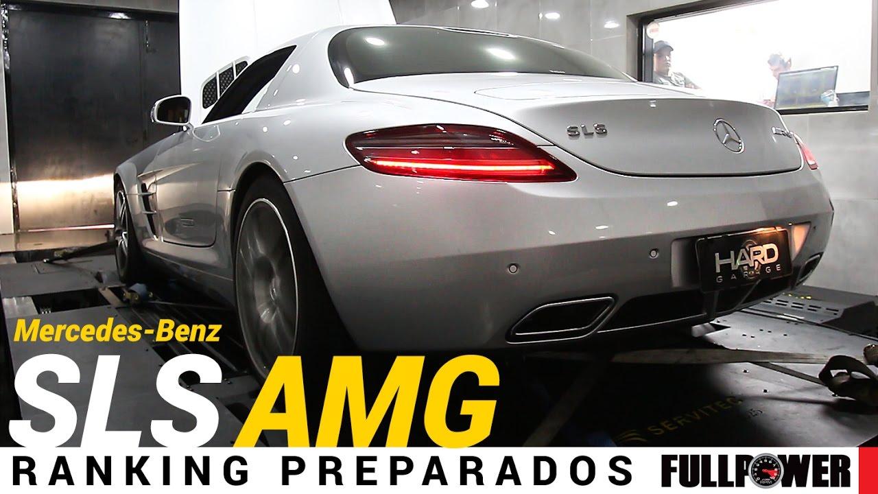 Mercedes Benz SLS AMG, V8 6.2 Aspiradão, No Ranking Preparados FULLPOWER