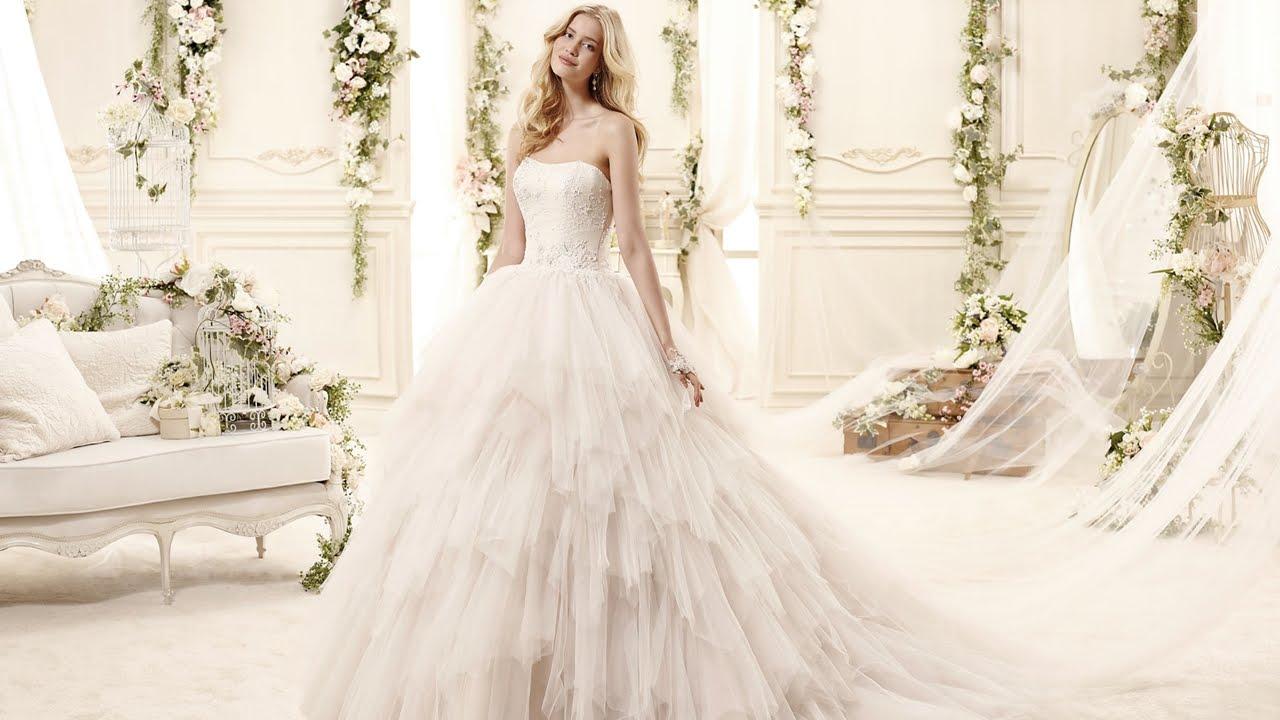 Fluffy Princess Wedding Dress
