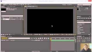 ▶ Adobe After Effects CS6 Интерфейс и слои урок 1 RUS   YouTube 360p