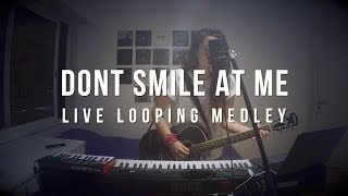 dont smile at me - Billie Eilish - Live Looping Medley (every song of her EP)