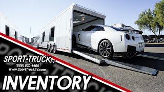 2 Car ATC Gooseneck Car Hauler.  Hard to find!  At Sport Truck RV in Chandler, Arizona.  #217055