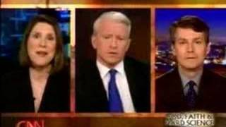 "Creationism debate on CNN's ""Anderson Cooper 360"""