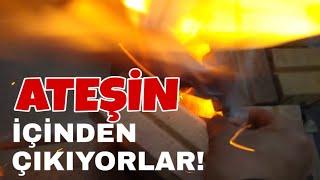 ATESİN İCİNDEN ÇİKAN PİRLANTALAR!!!