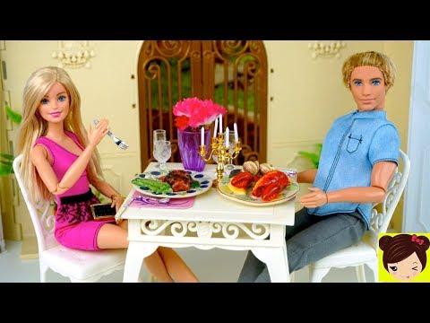 Barbie y Ken Tienen una Cita Romantica - Los Juguetes de Titi