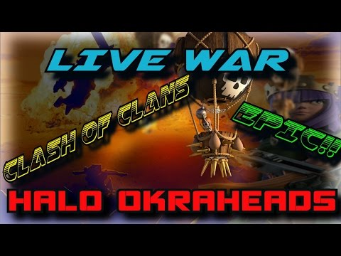 Live War Attacks --Standard War -- Watch Me Attack and Strategize! Surprising News!!