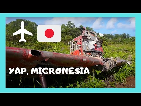 YAP, WW2 JAPANESE AIRCRAFT (zeros) and the WW2 landing strip, MICRONESIA (Pacific Ocean)