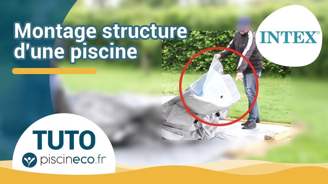 Comment monter la structure tubulaire d une piscine hors - Filtration piscine hors sol intex ...