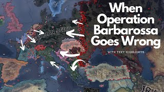 Failed Operation Barbarossa - HOI4 Timelapse